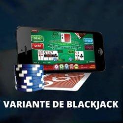 choisir variante blackjack et jouer
